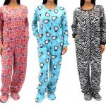 Pijama mono unisex con patrones