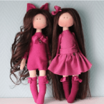 Patrón para hacer muñeca de tela