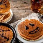 Halloween pancakes for children