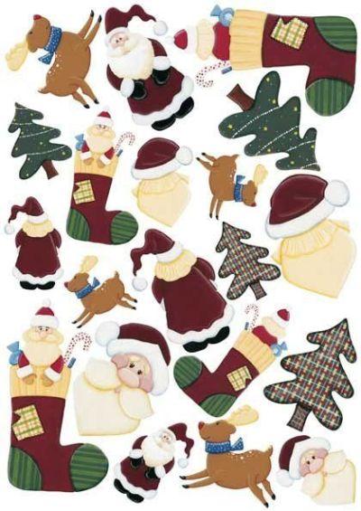 7 Láminas de decoupage para navidad (1)