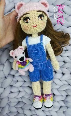 DIY muñeca Sofia amigurimi