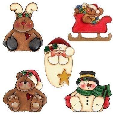 7 Láminas de decoupage para navidad (2)