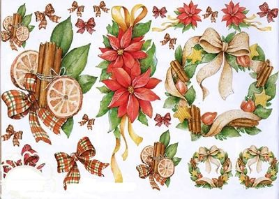 7 Láminas de decoupage para navidad (6)