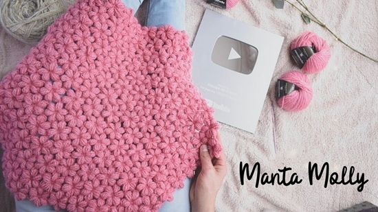 DIY para hacer una manta de flores Molly