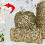 Ideas artesanas con cuerda