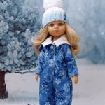 Mono de invierno para muñecas