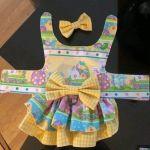 Patrón vestido para mascota pequeña