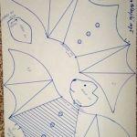 Molde-murciélago-infantil-tela