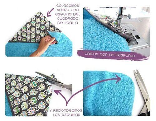 DIY capa de baño para bebé(3)