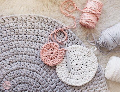 Alfombra Oso a crochet con patrón gratis (2)