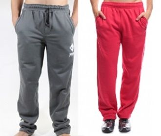 Pantalón deportivo con elástica para hombre