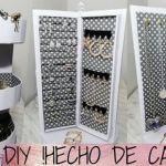 DIY Organizador giratorio reciclando cartón