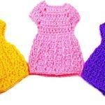 DIY vestido a crochet para muñecas