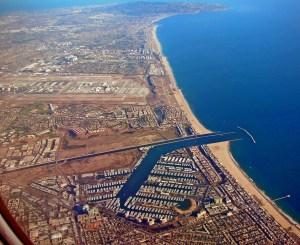 Marina del Rey: looking South