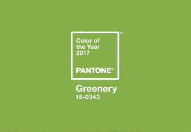 Greenery é il colore del 2017!