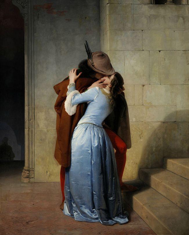 """""""Il bacio"""" di Hayez"""