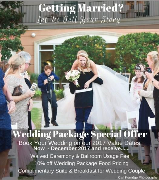 myrtle beach wedding package, value wedding package dates, myrtle beach value wedding package