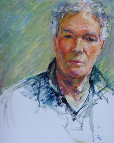 Portrait of Victor Herbert. Commission portrait by Marina Kim
