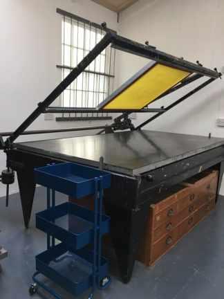 Process Club - screenprinting studio facilities in Hastings