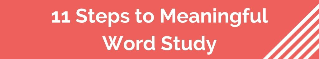 Meaningful Word Study Marina L Mcclure