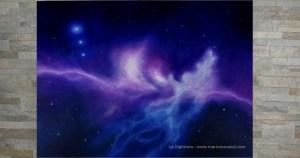 """""""La Vita oltre la Vita - Un nuovo Inizio"""" di Marina Ravaioli -Anno 2019 - Dimensioni 80 x 60 cm Olio su tela, finitura satinata/opaca. Disponibile."""