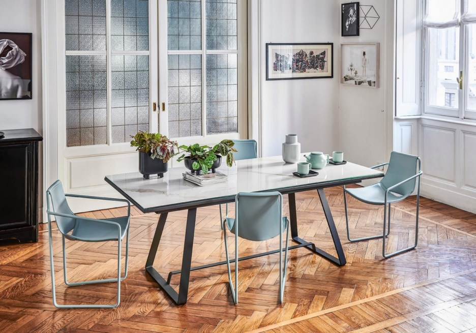 alfred extendable table midj in italy