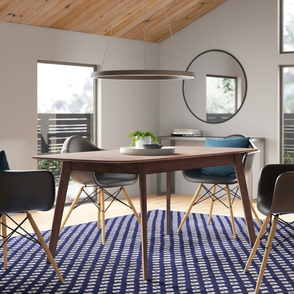 brown allmodern kitchen dining tables youll love in 2020