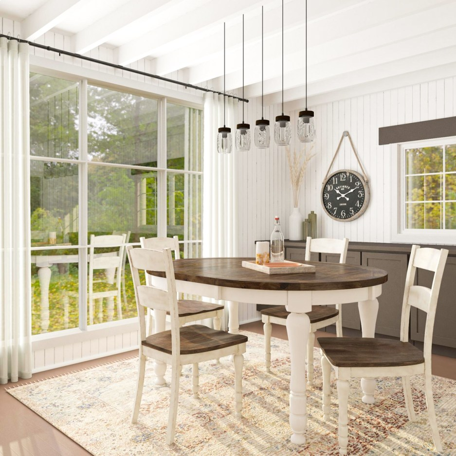 farmhouse dining room design 8 ways to get this popular look
