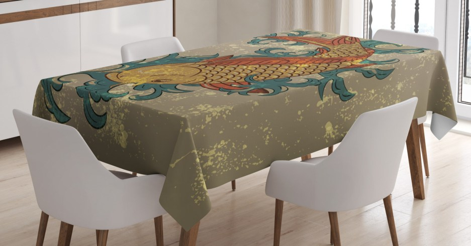japanese dining room kitchen tablecloth