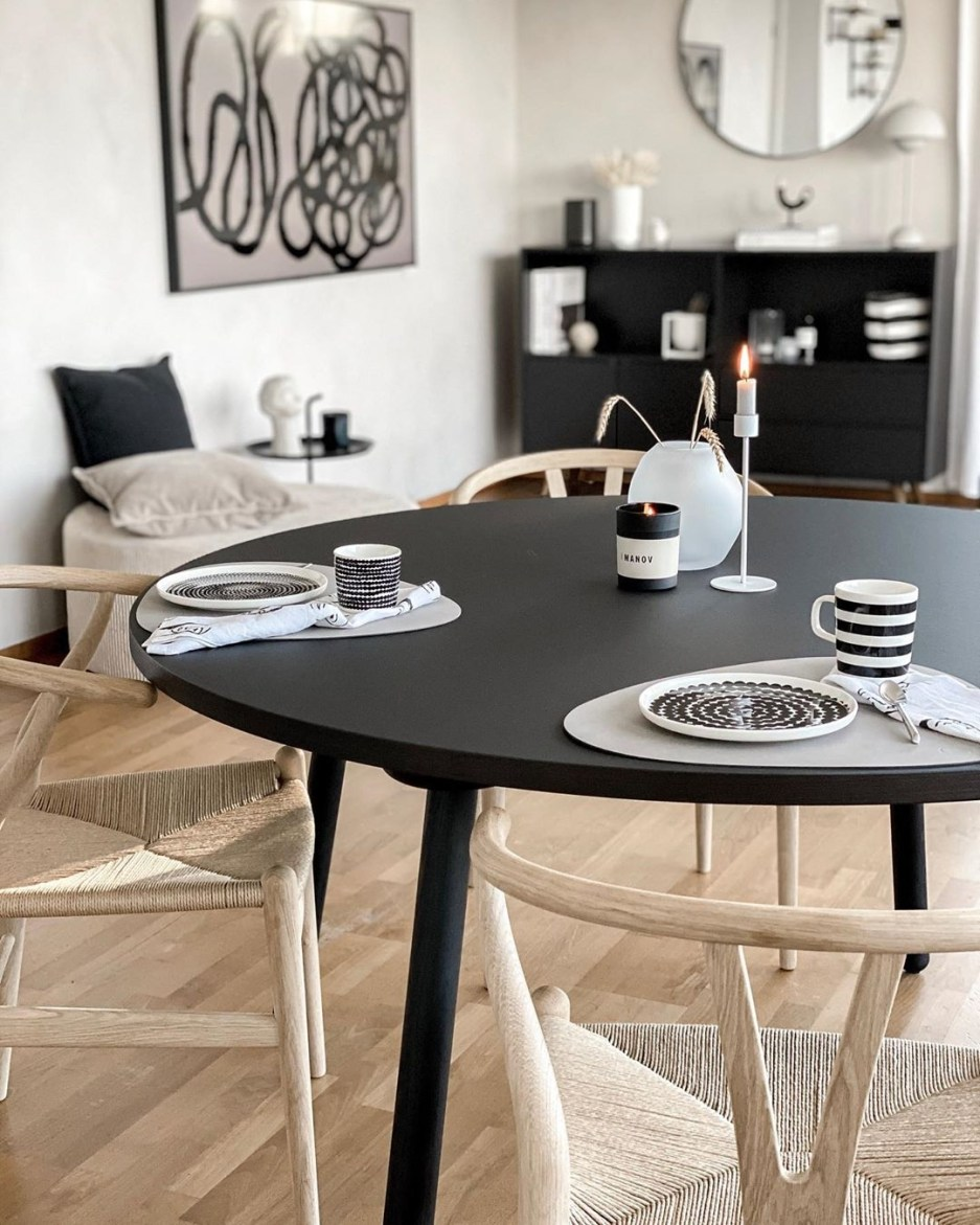17 scandinavian dining tables with hygge style
