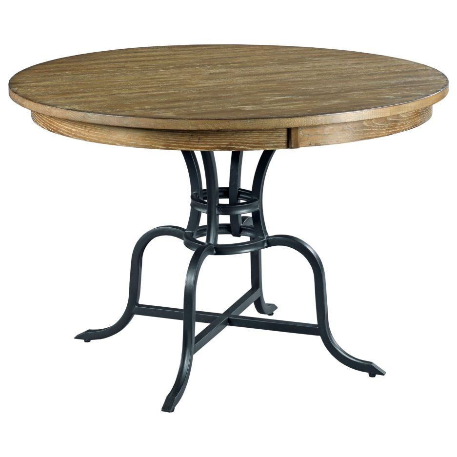 kincaid furniture the nook 663 44mp 44 round solid wood