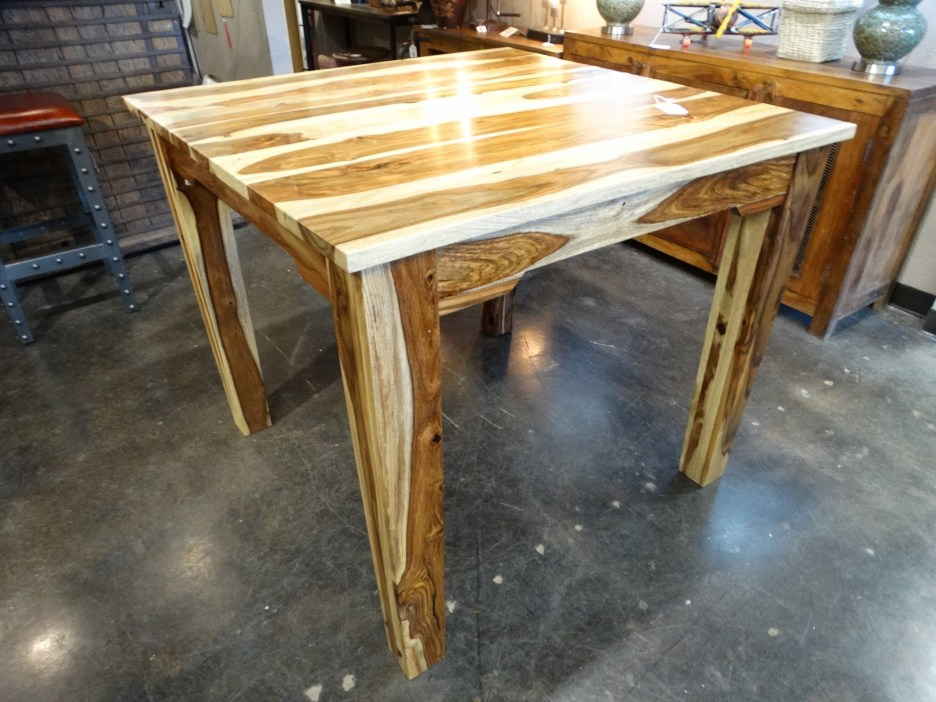 modern rustic sheesham table this table has dark and light