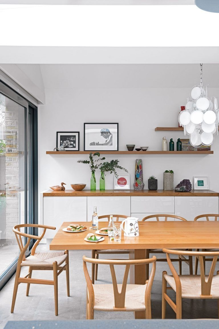 neutral and relaxed dining space ideas for an effortless