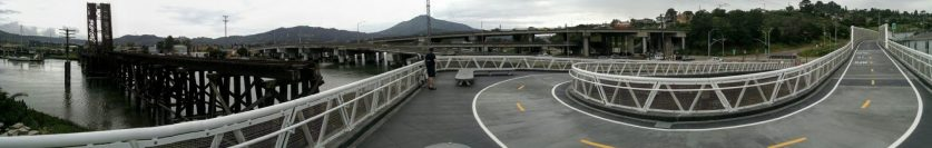 SFD Bike Ped Overcrossing Panorama