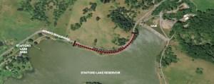 Novato Bike Path Closure Detail
