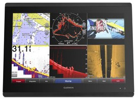 Garmin GPSMAP 8400 Series in 6 way Split