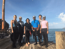 Helen Sykes part of Survey Team in Northern Lau Group – May 2017