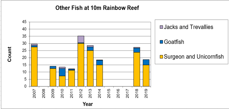 Figure 9:  Other Fish 10m -  Taveuni - Rainbow Reef