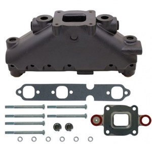 MerCruiser 43L Carburetor Alpha  Bravo Exhaust Manifold & Elbow Parts