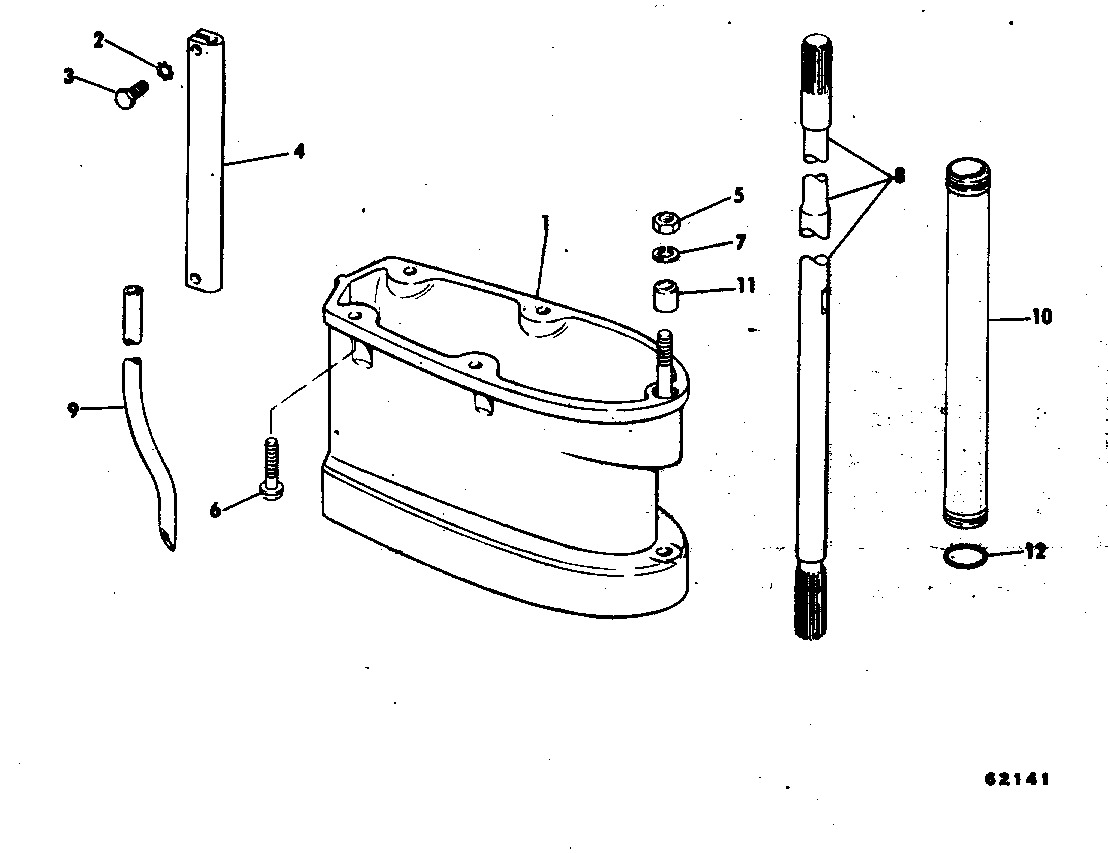 Extension Kit Assembly 35 Hp Miscellaneous