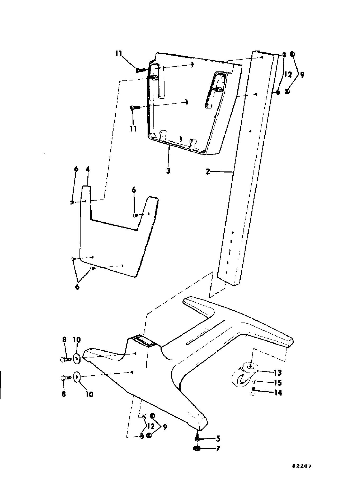 Engine Display Stand 55