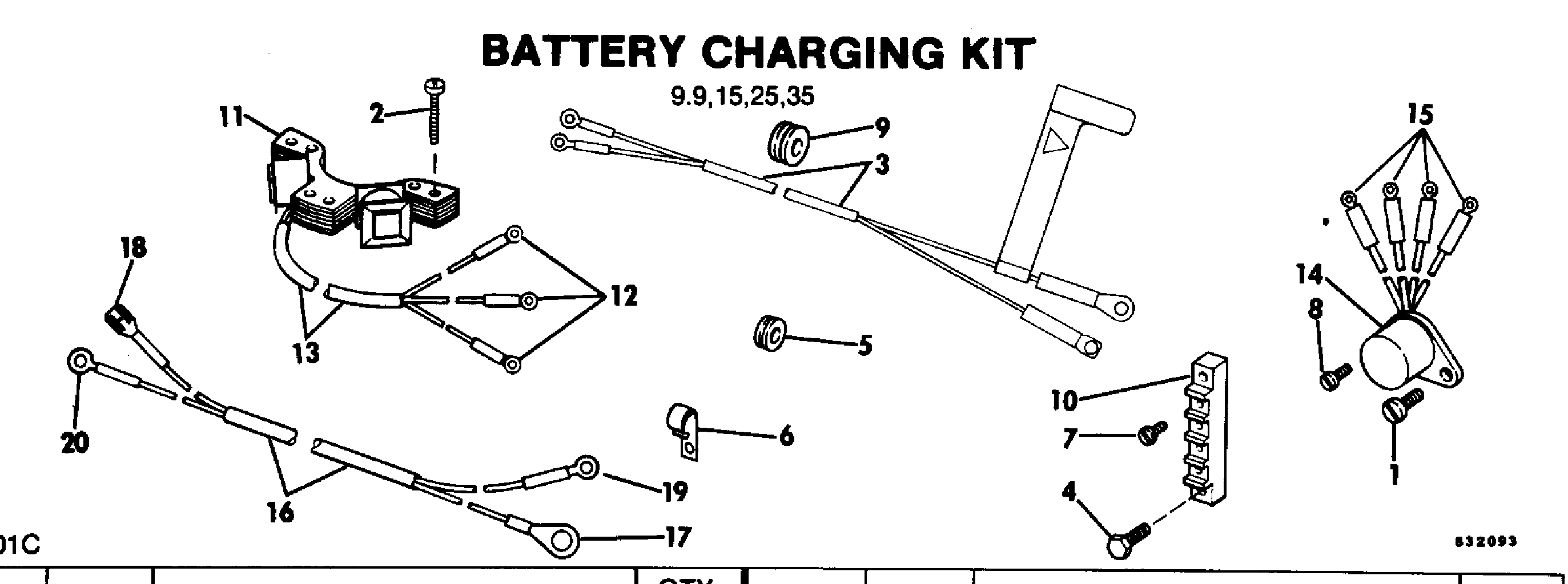 Mercury Outboard Charging System