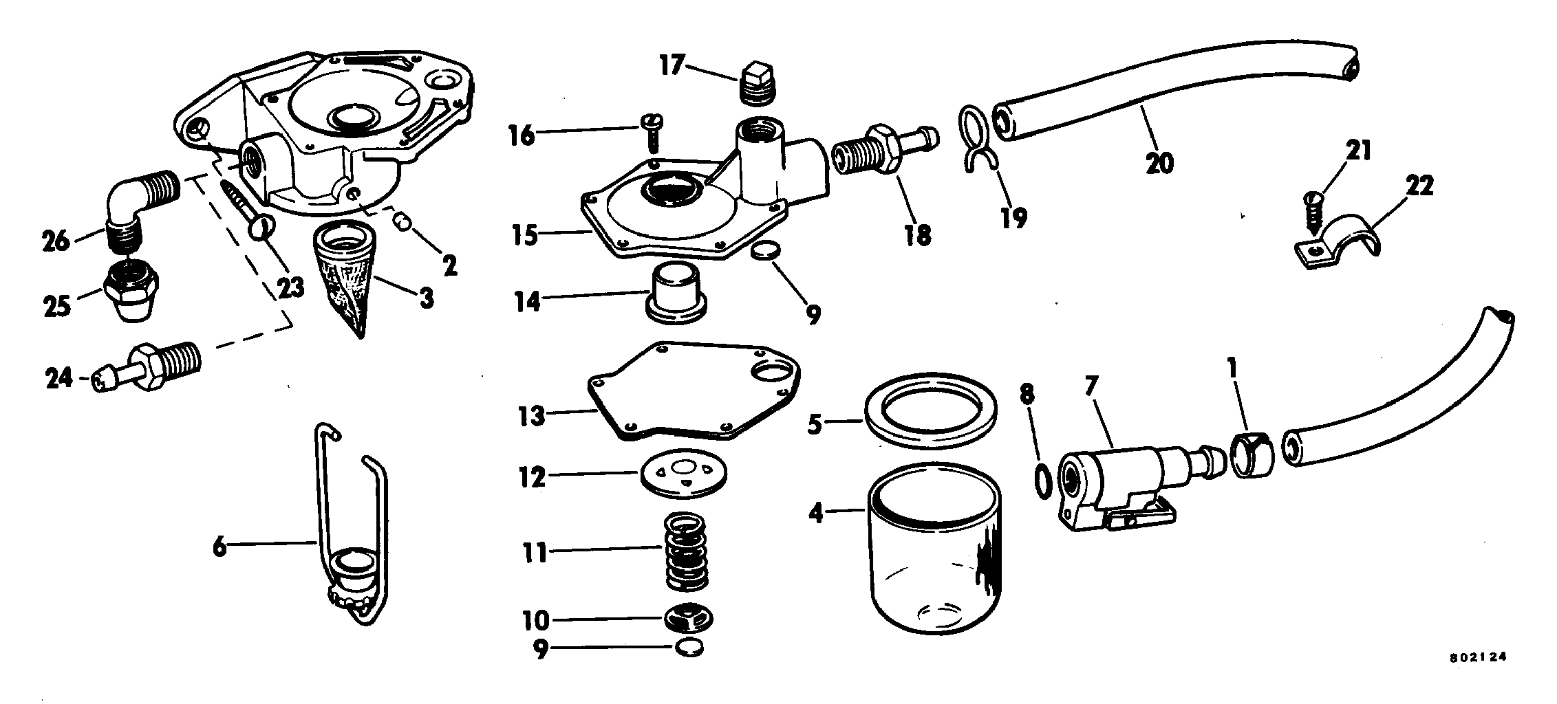 Primer Pump Kit Fuel System Accessories For