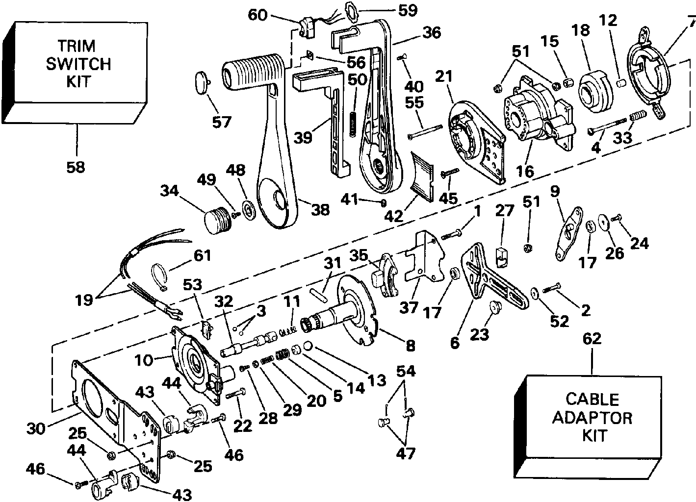 Mariner Throttle Control Wiring Diagram