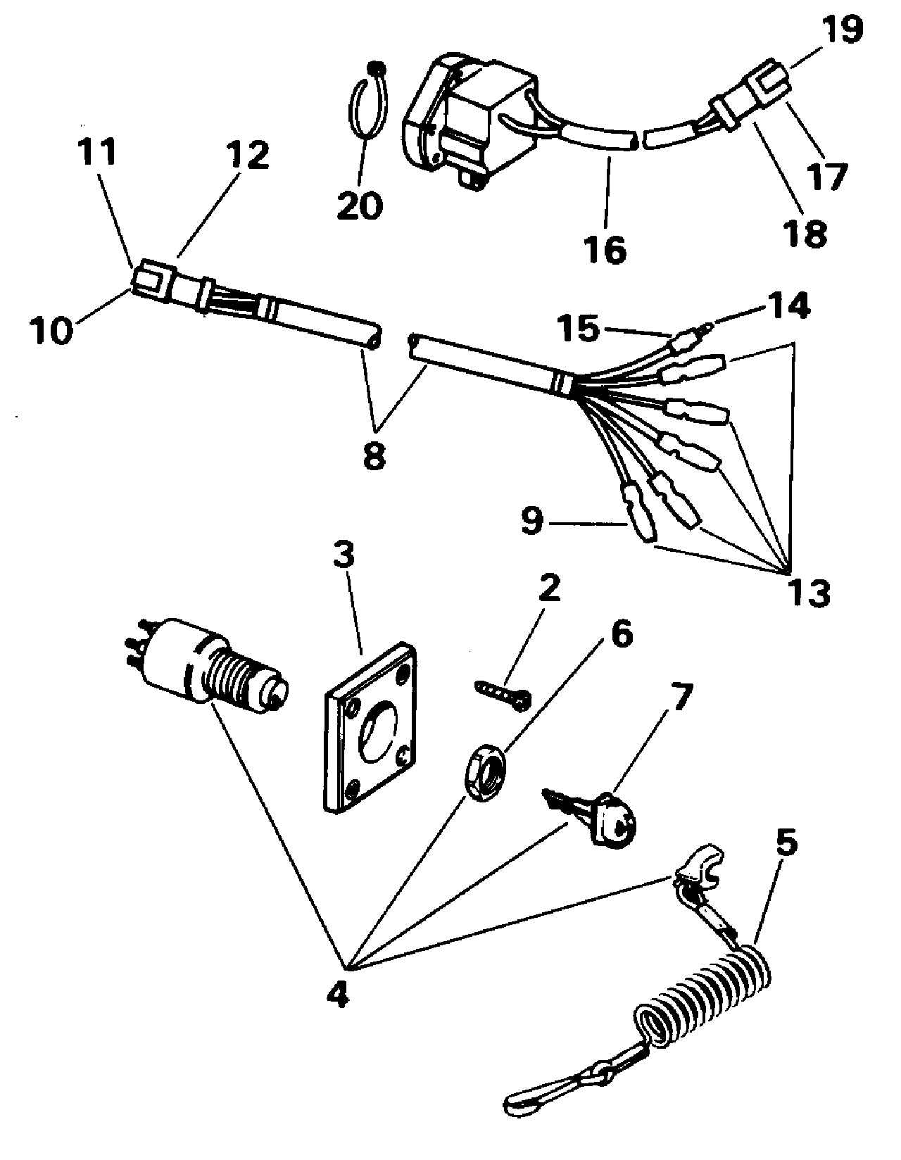 Johnson Ignition Switch Wiring Diagram