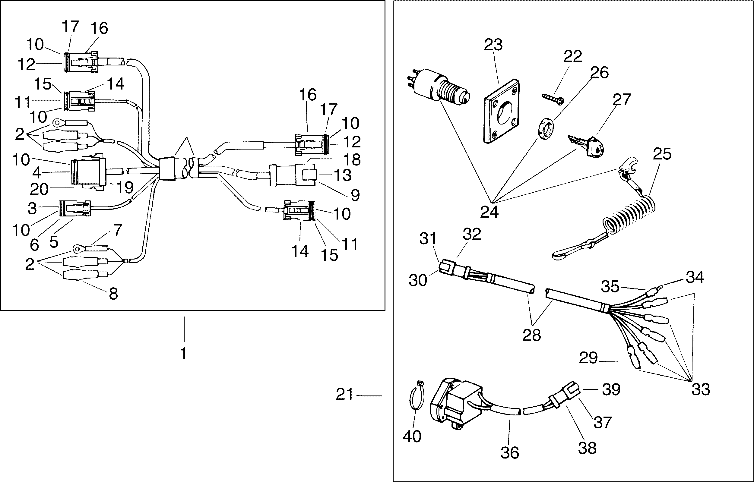 Outboard Motor Wiring Diagrams