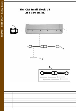 Chris Craft Engine Parts Diagram | Wiring Library
