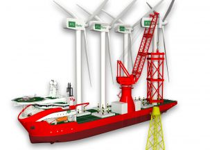 carousel 1 New Wind Turbine Ship Design Unveiled