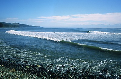 Jordan River Surf Vancouver Island Canada