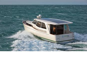 File f longer travel is in your plans, the Greenline 33 is the largest hybrid powerboat on the market today.